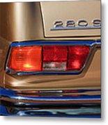 1971 Mercedes-benz 280se 3.5 Cabriolet Taillight Emblem Metal Print