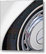 1971 Mercedes-benz Wheel Emblem Metal Print