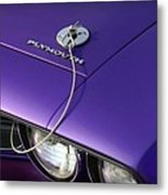 1971 Plum Crazy Purple Plymouth 'cuda 440 Metal Print by Gordon Dean II