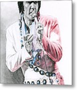 1971 Turquoise Concho Suit Metal Print