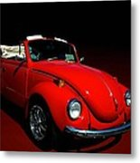 1971 Vw Convertible Metal Print