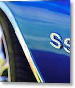 1972 Chevrolet Chevelle Ss Emblem Metal Print