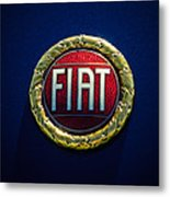 1972 Fiat Dino Spider Emblem Metal Print