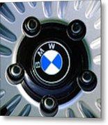 1973 Bwm 3.0 Csl Wheel Emblem Metal Print