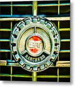 1973 Ford Ranchero Grille Emblem -0769c Metal Print