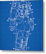 1973 Nasa Astronaut Space Suit Patent Art Metal Print