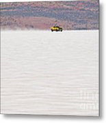 1973 Xa Ford Coupe On The Salt At Full Throttle Metal Print