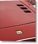 1974 Ferrari Dino 246gts Hood Emblem Metal Print