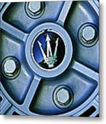 1974 Maserati Merak Wheel Emblem Metal Print