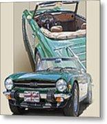 1975 Triumph Tr6 Metal Print