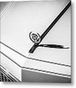 1976 Cadillac Eldorado Bw   Metal Print