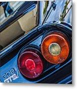 1980 Ferrari 308 Gtsi Taillight Emblem -0036c Metal Print
