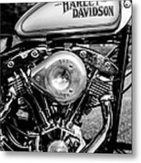 1981 Hd Tank And Motor Metal Print