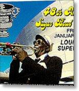 1982 Sugar Bowl Ticket Metal Print by David Patterson