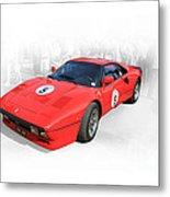 1985 Ferrari 288 Gto Metal Print
