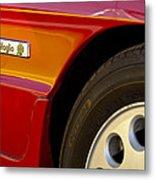 1988 Alfa Romeo Spider Quad Emblem Metal Print