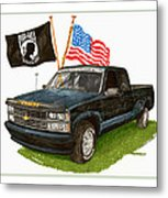 1988 Chevrolet M I A Tribute Metal Print by Jack Pumphrey