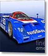1988 Nissan Zx-gtp Race Car Metal Print