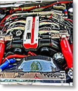 1990 Nissan 300 Zx Import Car Of The Year Metal Print