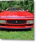 1993 Red Ferrari 512 Tr Metal Print