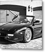 1997 Ferrari F 355 Spider -008bw Metal Print