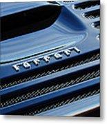 1997 Ferrari F 355 Spider Rear Emblem -153c Metal Print