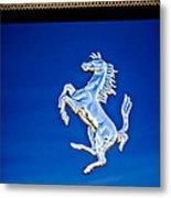 1997 Ferrari F 355 Spider Taillight Emblem -135c Metal Print