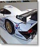 1998 Porsche 911 Gt1 Metal Print