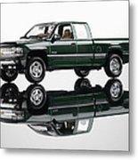 1999 Chevy Silverado Truck Metal Print