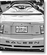 1999 Ford Saleen Mustang Bw Metal Print