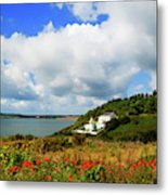 19th Century Duncannon Lighthouse Metal Print