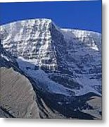 1m3732-v-snow Dome  Metal Print
