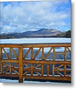 Winter At Chocorua Lake  Metal Print
