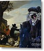 Keeshond Art Canvas Print Metal Print