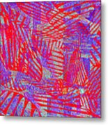 0218 Abstract Thought Metal Print
