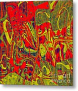 0477 Abstract Thought Metal Print