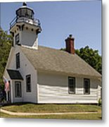 1870 Mission Point Lighthouse Metal Print