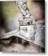 1927 Franklin Sedan Hood Ornament Metal Print by Jill Reger