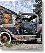 1928 Ford Model A Metal Print