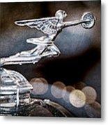 1930 Packard Model 733 Convertible Coupe Hood Ornament Metal Print