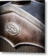 1931 Ford Grille Emblem Metal Print