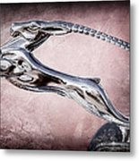 1932 Chrysler Ch Imperial Cabriolet Hood Ornament Metal Print