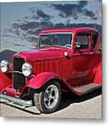 1932 Ford '5 Window' Coupe Metal Print