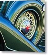 1933 Pontiac Spare Tire -0431c Metal Print