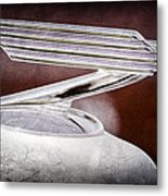 1934 Chevrolet Hood Ornament Metal Print