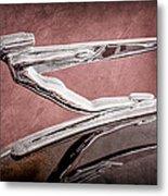 1936 Auburn Speedster Replica Hood Ornament Metal Print