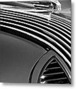 1936 Pontiac Hood Ornament Metal Print