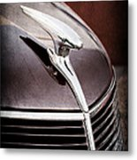 1937 Ford Hood Ornament Metal Print
