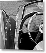 1937 Peugeot 402 Darl'mat Legere Speacial Sport Roadster Recreation Steering Wheel Emblem Metal Print