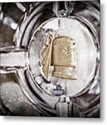 1951 Mercury Custom Emblem Metal Print
